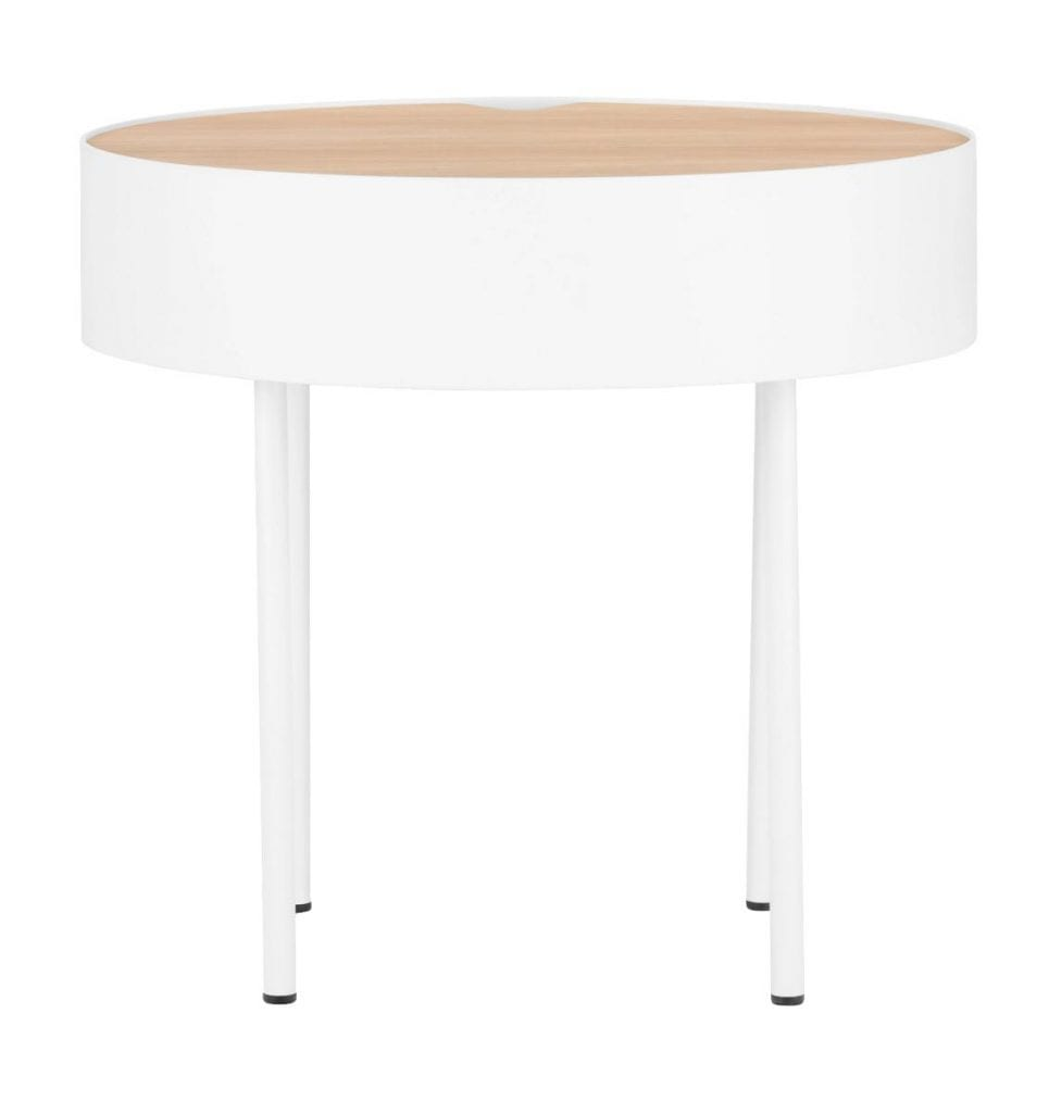 Alfred coffee table - White oiled oak/White OUTGOING*-0