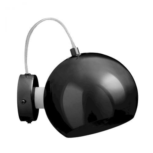 Ball Wall lamp - Black Chrome-0