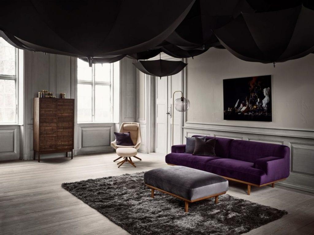 Bossa szőnyeg - Ø200 cm - Fehér-8588