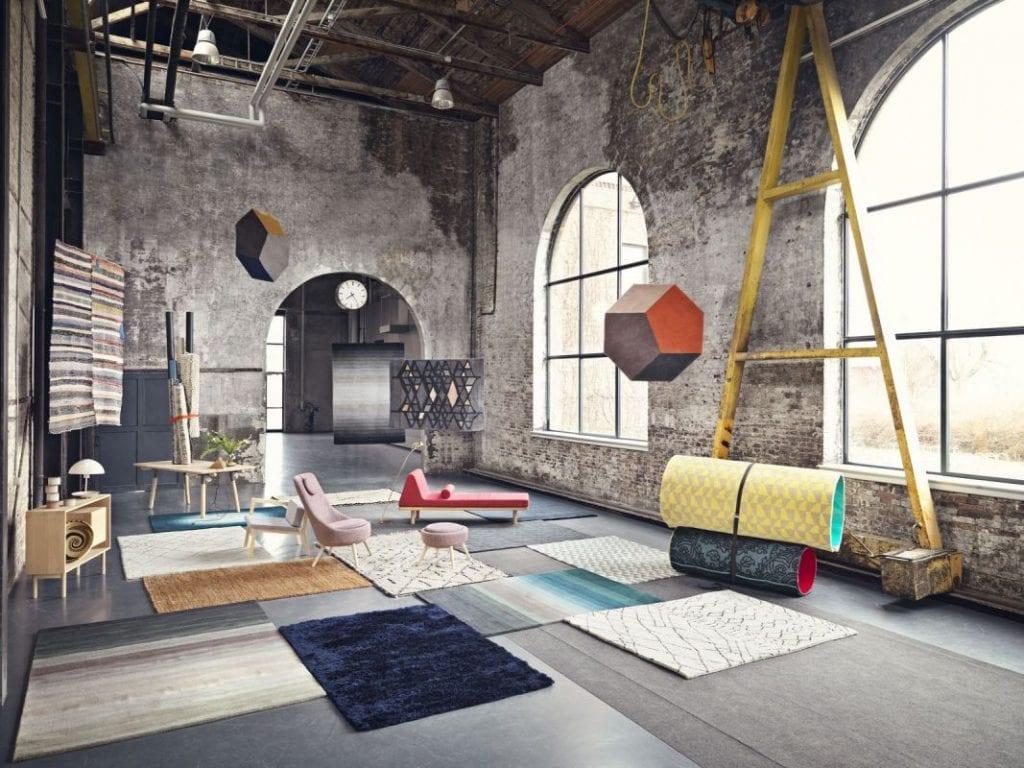 Bossa szőnyeg - Ø200 cm - Világosszürke-8585
