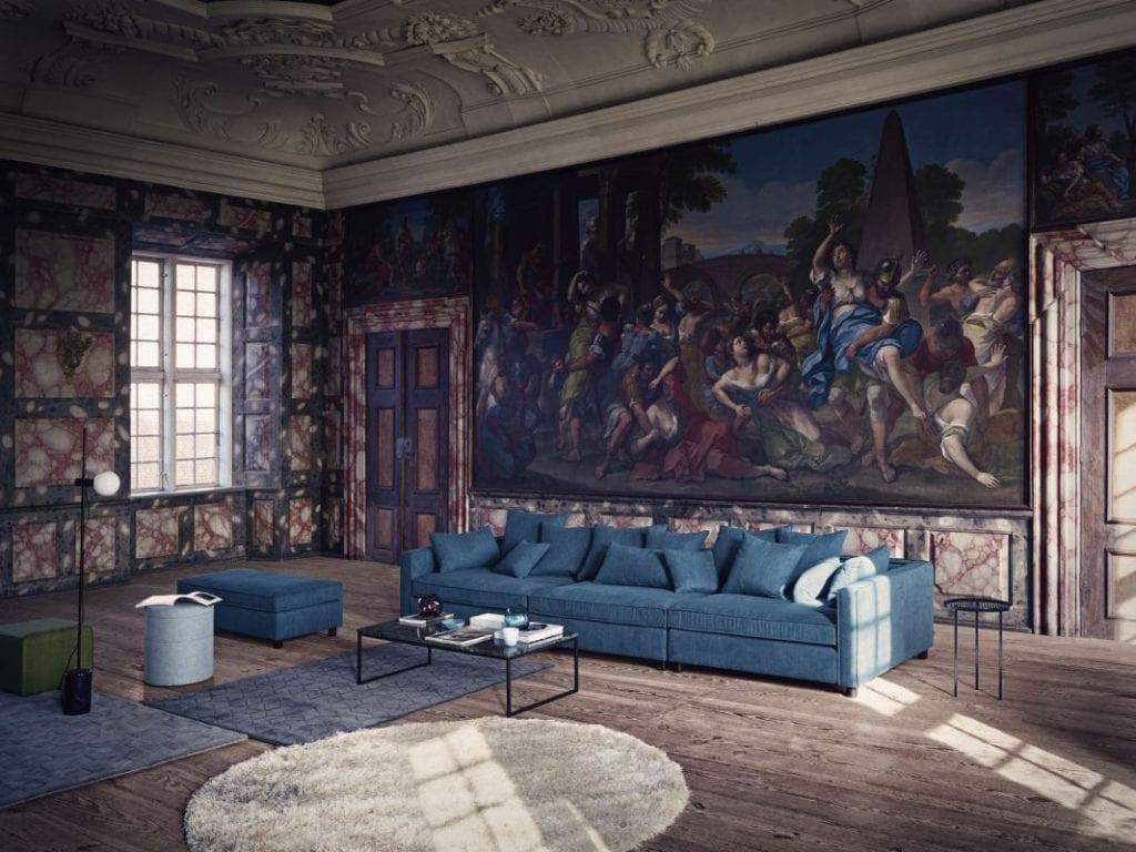Bossa szőnyeg - Ø200 cm - Világosszürke-8586