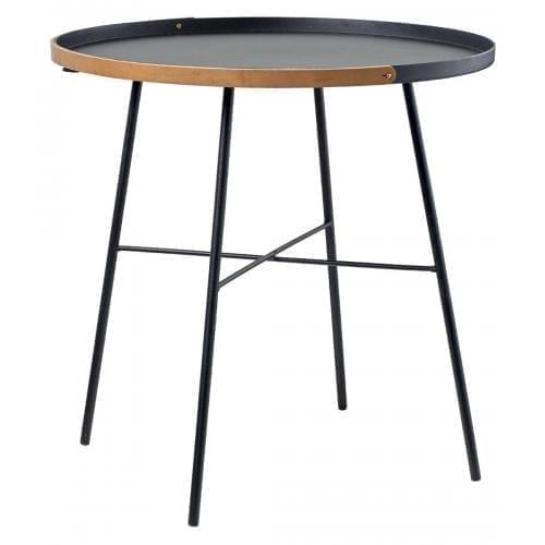 Carry on Side table Ø50 - Black-0