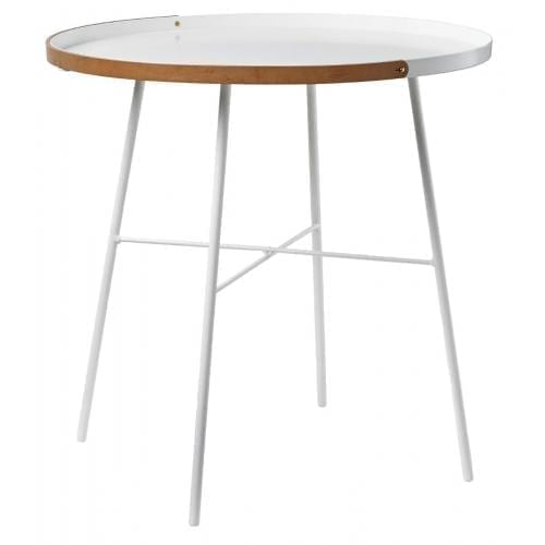 Carry on Side table Ø50 - White-0