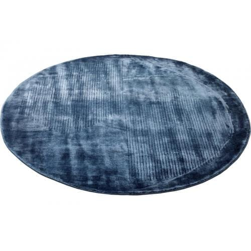 Circum rug - Ø200 cm - Blue-0