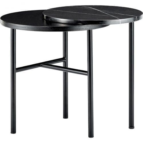 Closer kisasztal - Fekete márvány-0