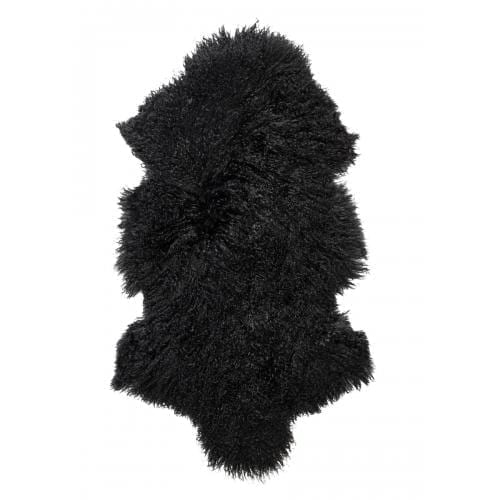 Everest Sheepskin Longhair - Black-0