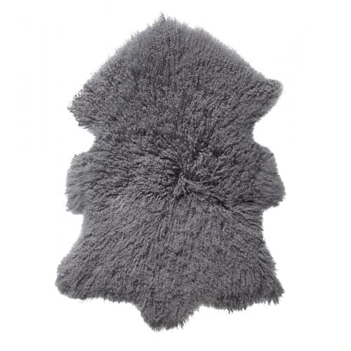 Everest Sheepskin Longhair - Steel-0