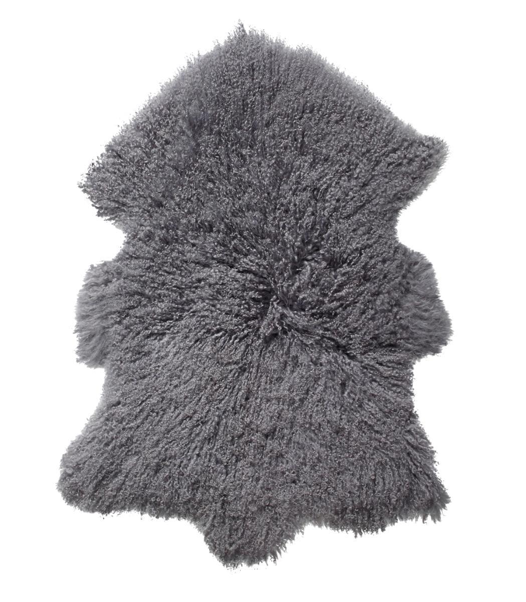 Everest Sheepskin Longhair - Steel-0