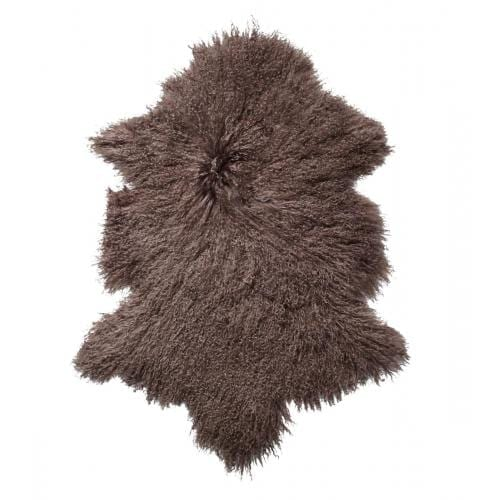 Everest Sheepskin Longhair - Taupe-0