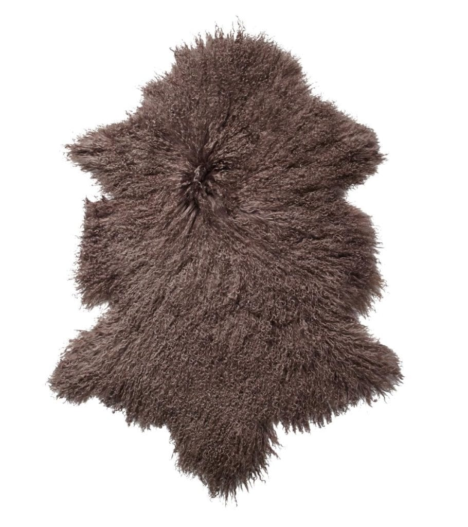 Everest Sheepskin Longhair - Taupe-0