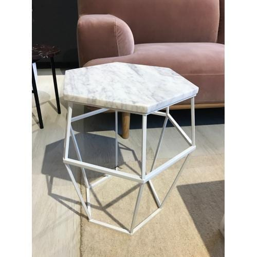 Hex Marble Coffee table - Showroom furniture-0