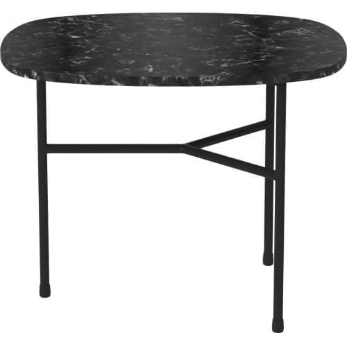 Pod Small dohányzóasztal - Fekete márvány-0
