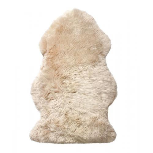KIWI Hosszú szőrű báránybőr - Fehér-0