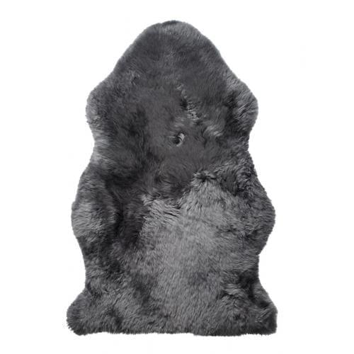 KIWI Hosszú szőrű báránybőr - Acélszürke-0