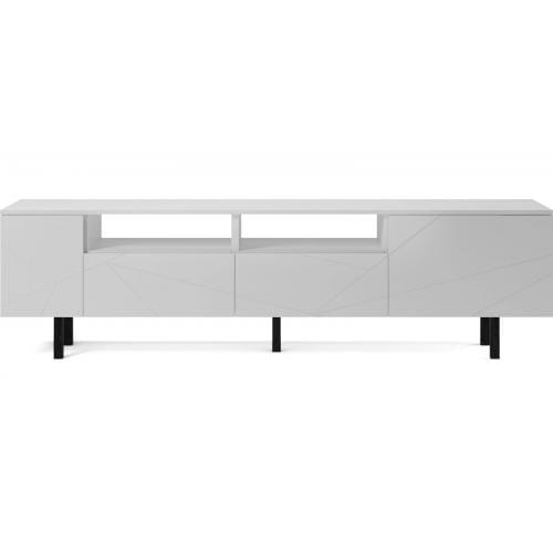 Save Media Large - White lacquered, Top in white lacquered, Black legs-0