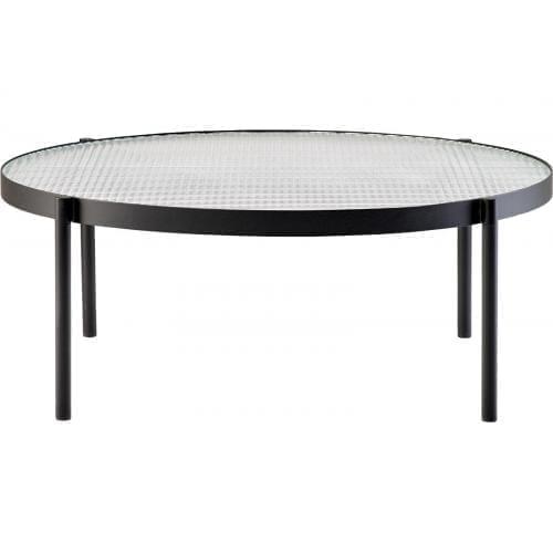Tab Round dohányzóasztal - Alacsony-0
