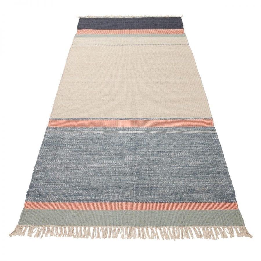 Twine rug - 80x250 - Blue Mix-0