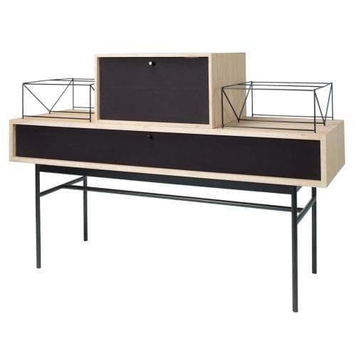 Vinyl Media furniture – White pigmented oak OUTGOING*-2022