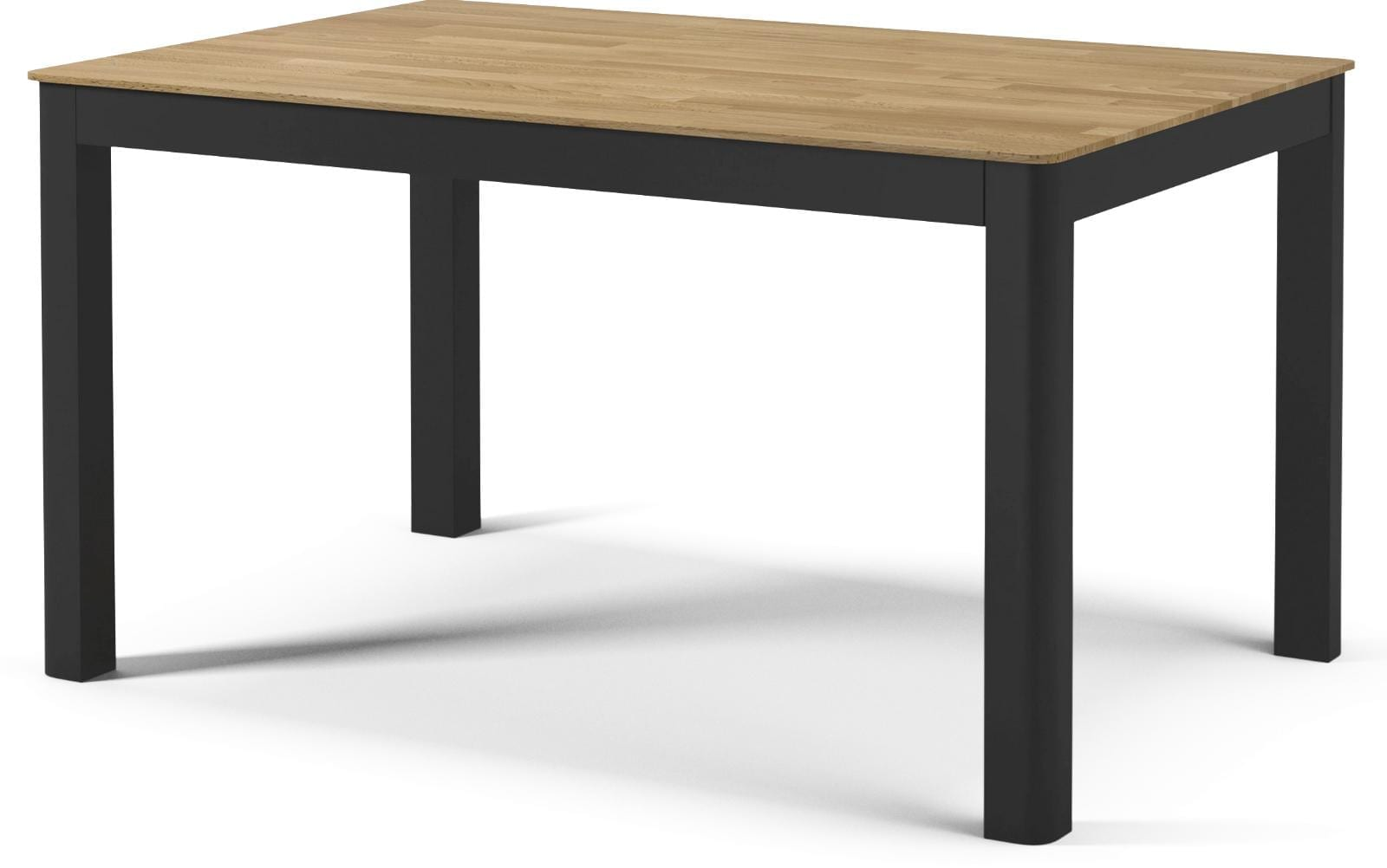 Node Dining Table 90x140 Cm Oiled Oak Anthracite Lacquered 2310