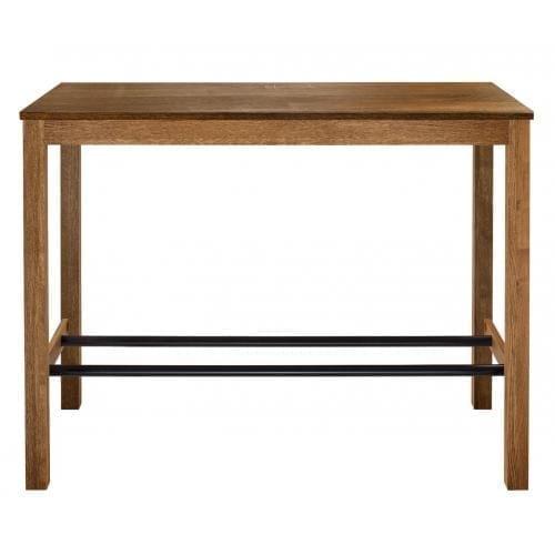Skagen magas étkezőasztal 65×140 cm – Sötét tölgy-2500