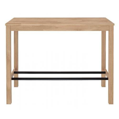 Skagen magas étkezőasztal 65x140 cm - Világos tölgy-0
