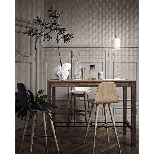 Skagen magas étkezőasztal 65x140 cm - Világos tölgy-2485