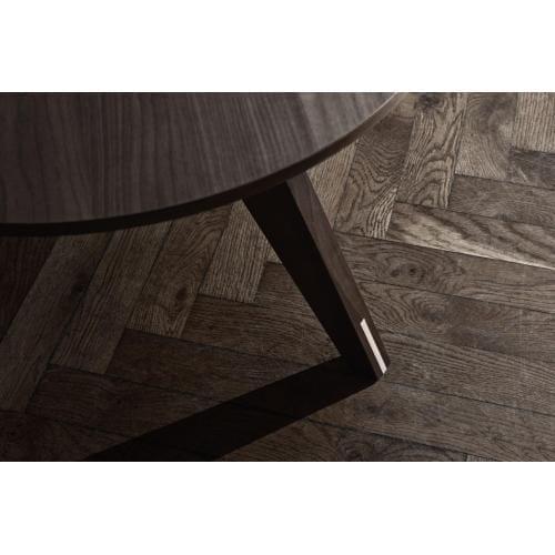 Mood négyzetes nagy étkezőasztal – Fehér tölgy/Fehér-2457