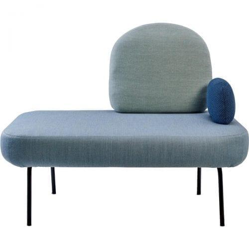 BETWEEN kanapé karfával – szürke-4178