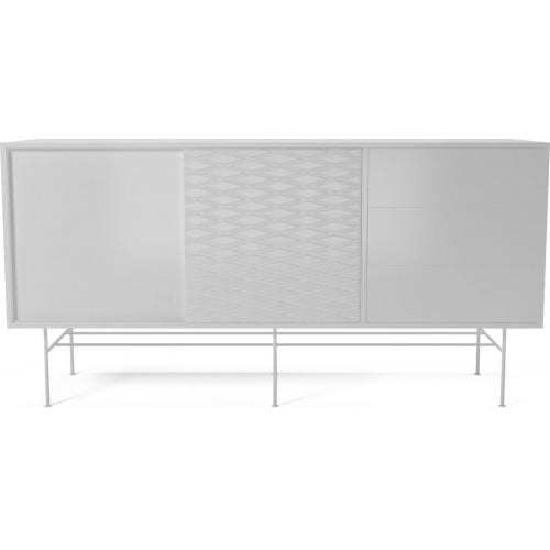 CASE Sideboard - MDF - white lacquered-0