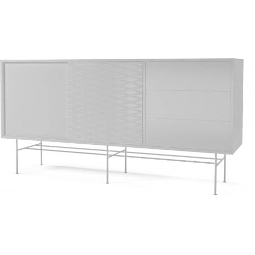 CASE Sideboard – MDF – white lacquered-6900