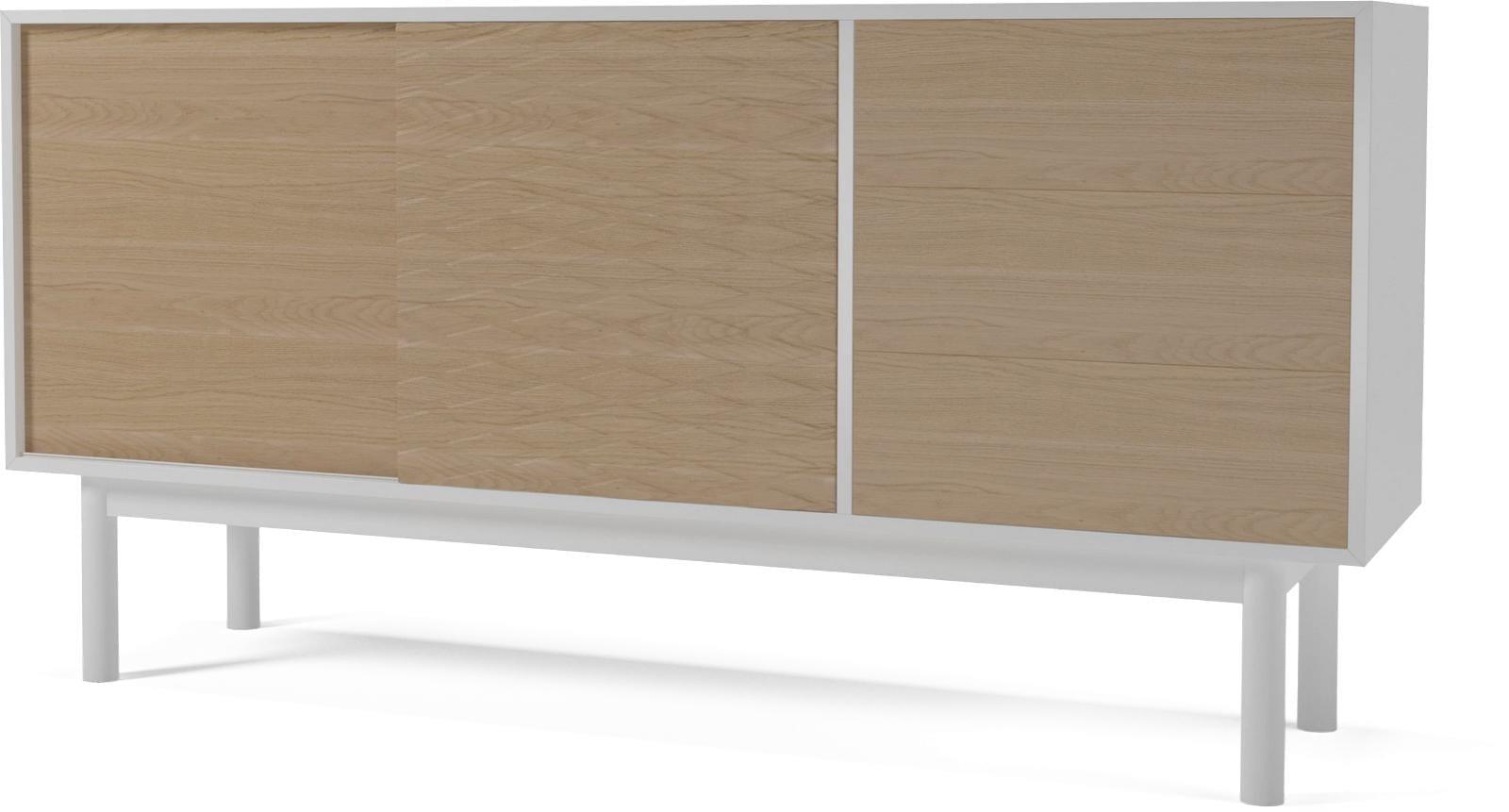 Case Sideboard Mdf Whitewhite Oak