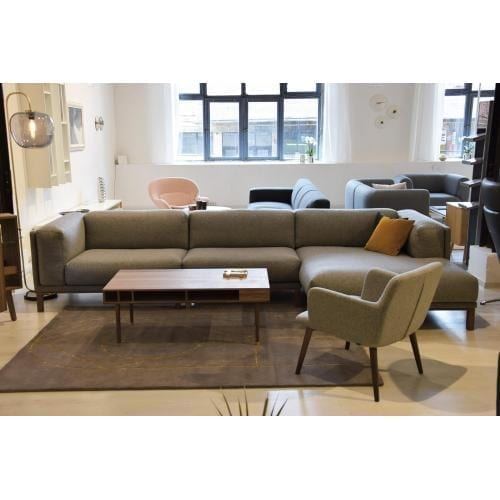 COSY 3 Seater sofa with chaise longue - Showroom furniture-0