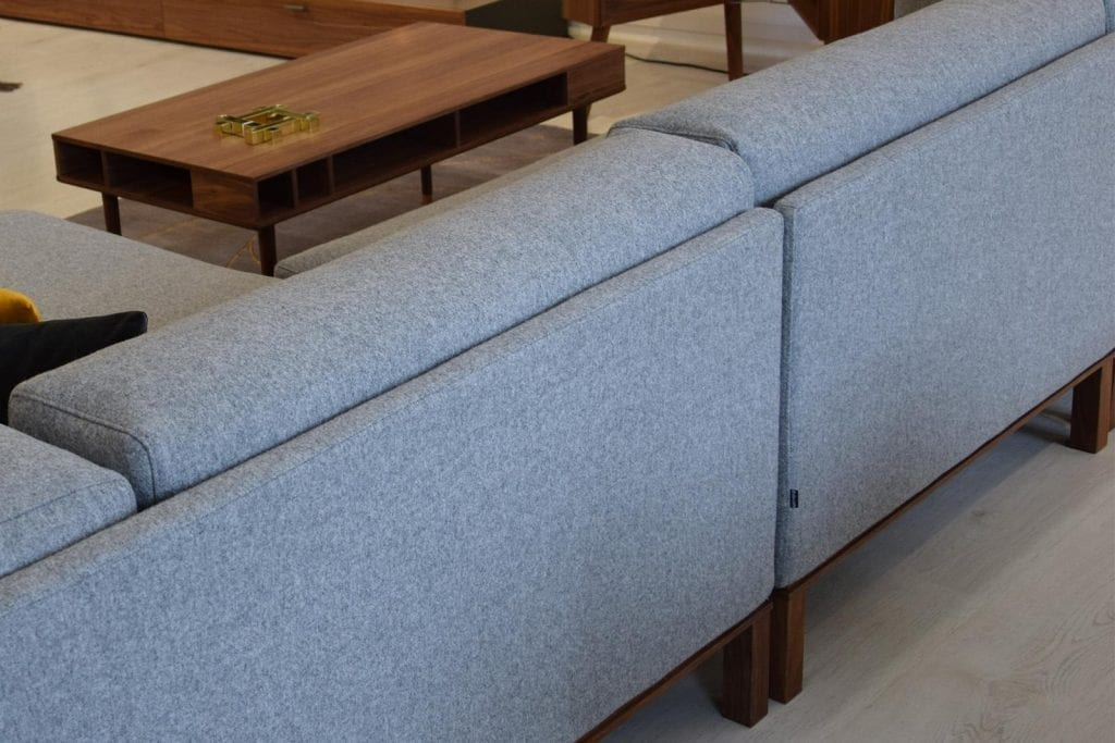 COSY 3 Seater sofa with chaise longue - Showroom furniture-6949