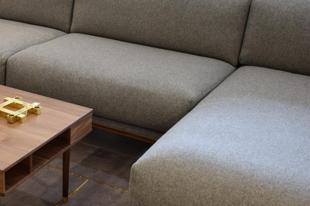 COSY 3 Seater sofa with chaise longue - Showroom furniture-6950