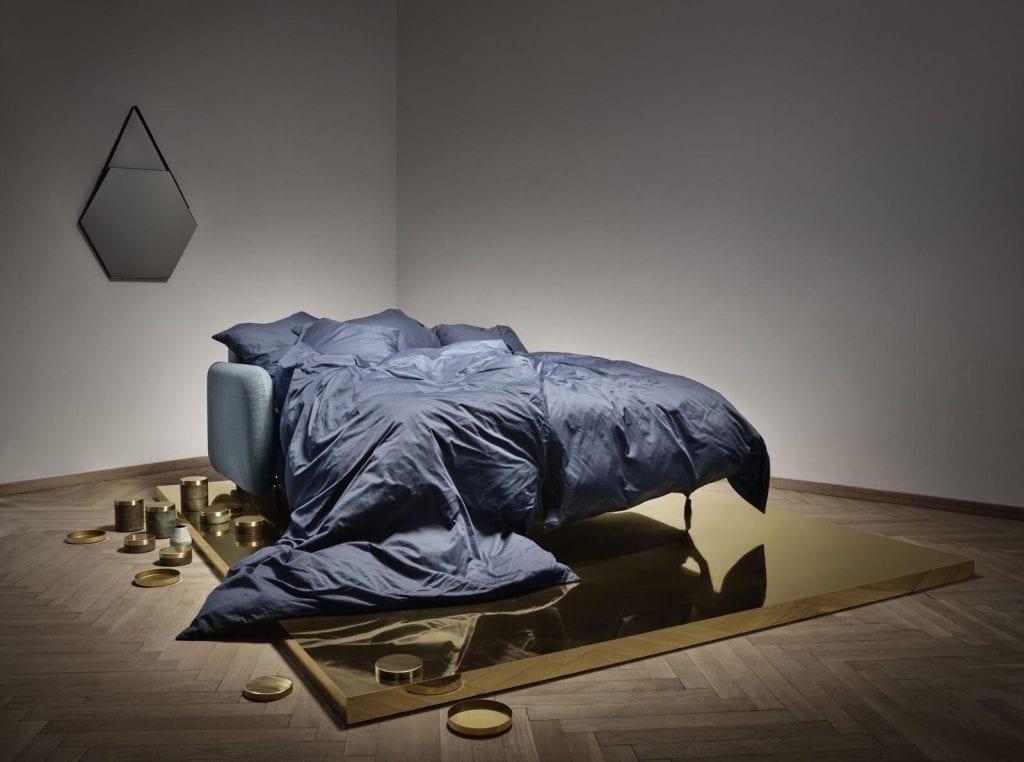 FLUFFY 2 Személyes ágyazható kanapé-3956