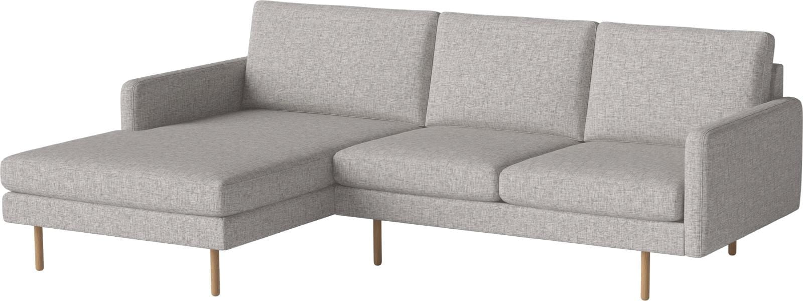 SCANDINAVIA REMIX 3 seater sofa with chaise longue