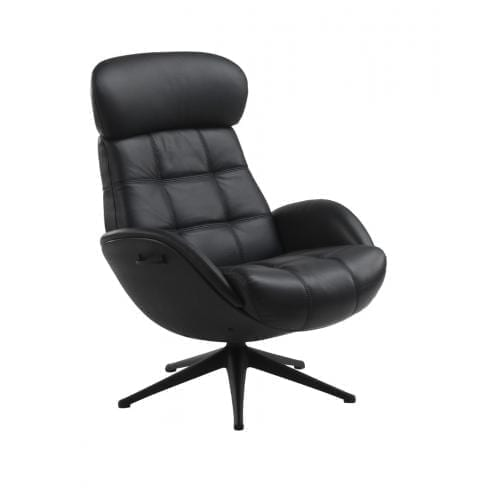 Flexlux EASE CHESTER Design chair with composite shell-0