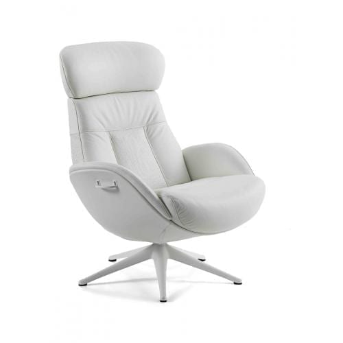 Flexlux EASE ELEGANT Design chair with upholstered shell-25070