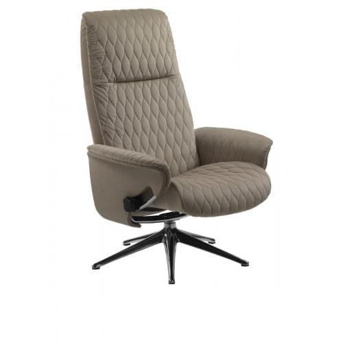 Flexlux SENSE DROPS Design fotel kárpitozott héjazattal-0