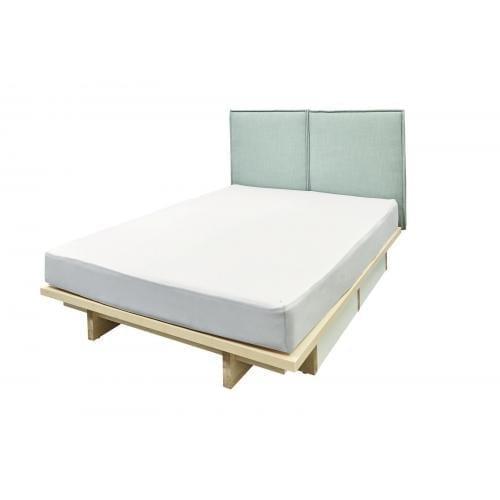 Hülsta SPIN ágy kárpitozott fejvéggel, 180-200-0