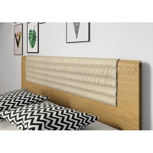 Hülsta TIME bedframe with wooden headboard, 180-200-26375