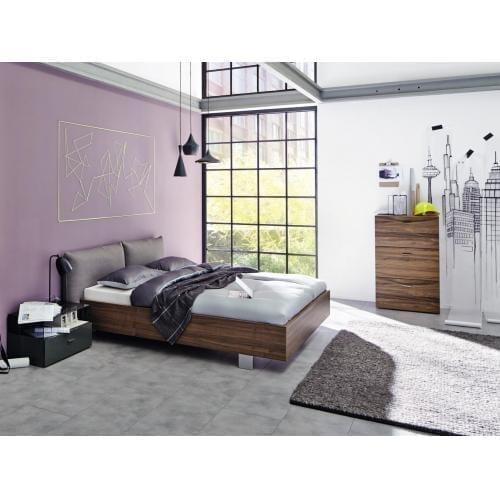 Hülsta no.14 bedframe with upholstered headboard, 180-200-6750