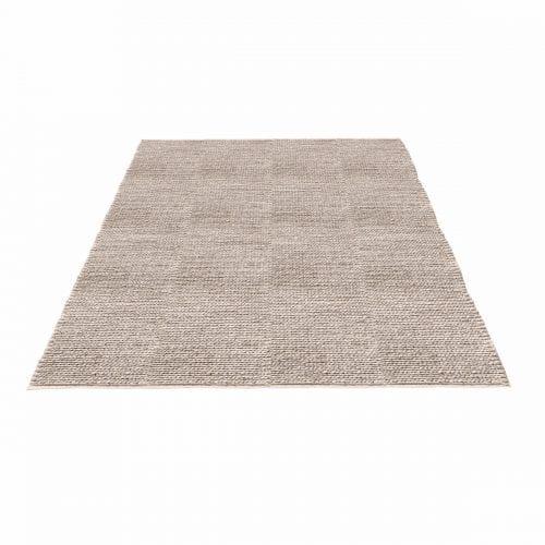 Braid rug - Light grey-0