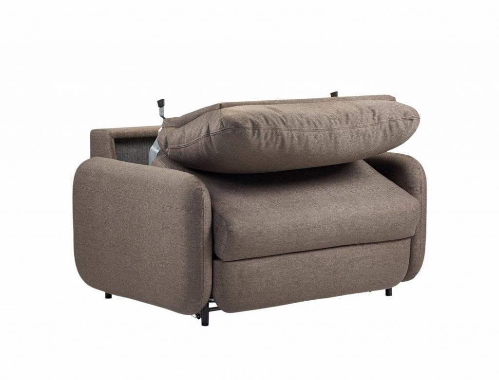 FLUFFY 1 személyes ágyazható kanapé-7835