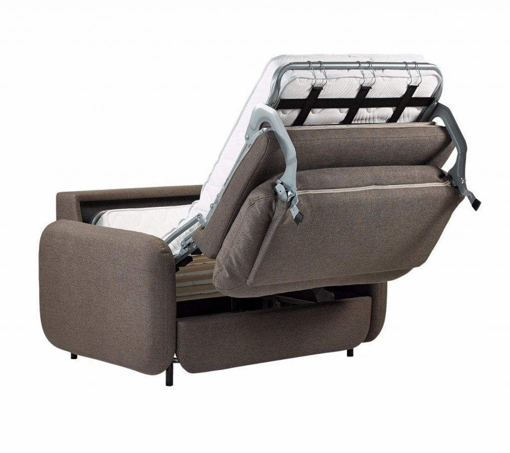 FLUFFY 1 személyes ágyazható kanapé-7836