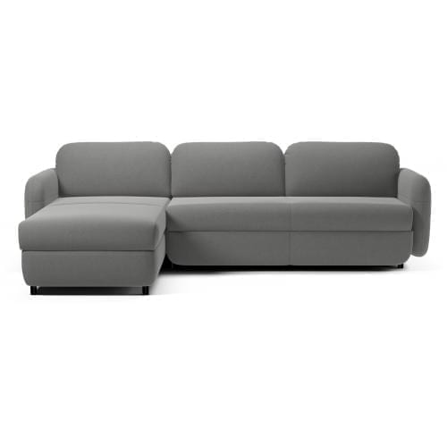FLUFFY 3 seater sofa bed with chaise longue-7804