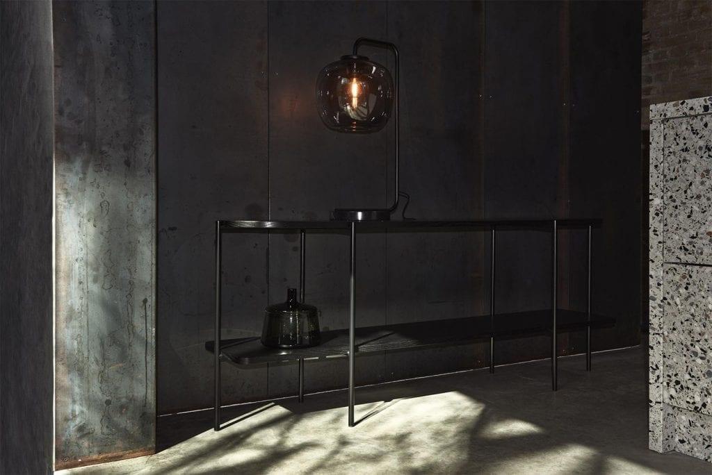 GRAPE asztali lámpa - Fekete-7732
