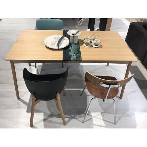 MEET Étkezőasztal 140 cm + MEET Gránitlappal bővítve - Bemutatótermi bútor-0