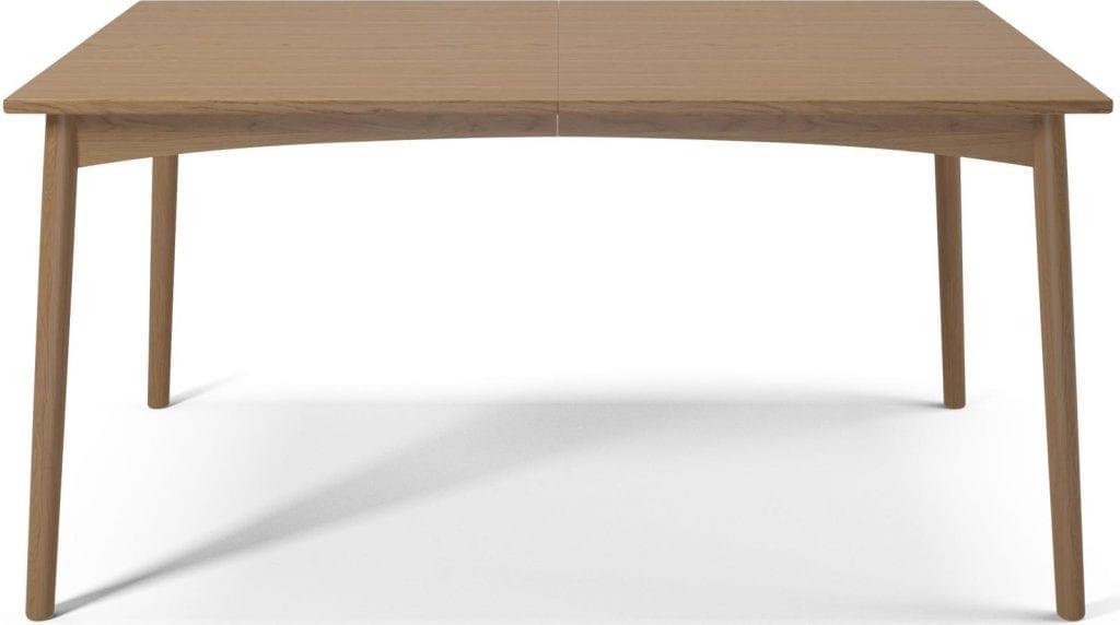 MEET Étkezőasztal 140 cm + MEET Gránitlappal bővítve - Bemutatótermi bútor-7048