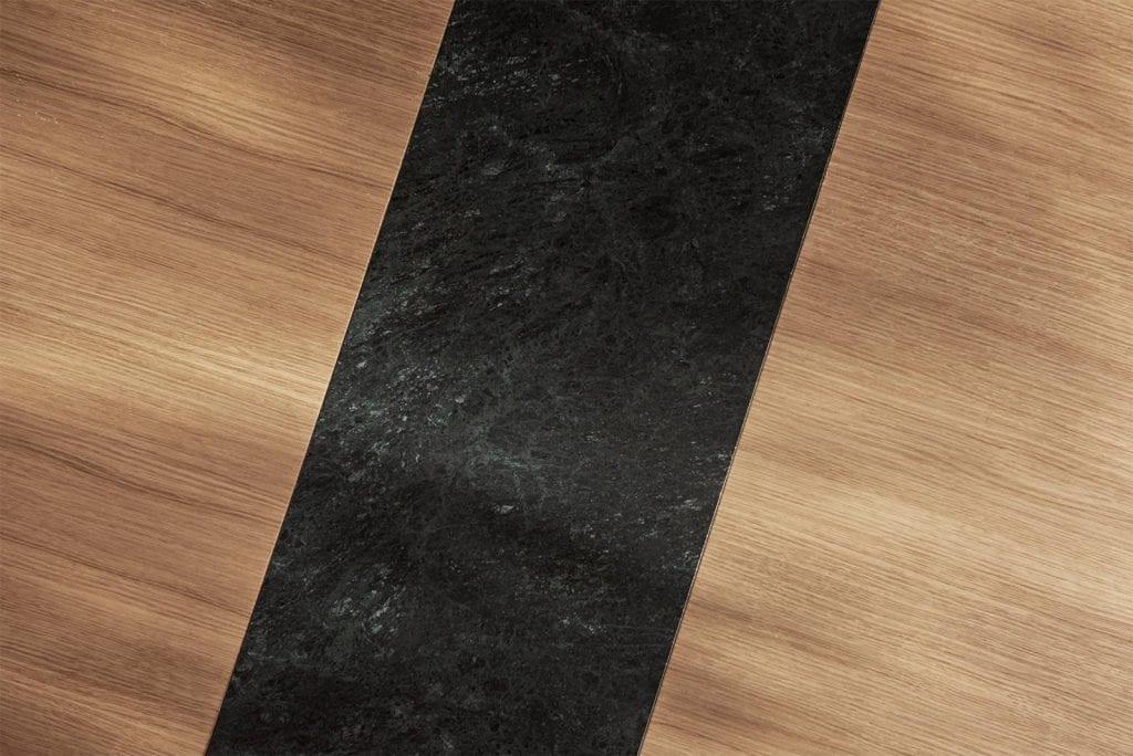 MEET Étkezőasztal 140 cm + MEET Gránitlappal bővítve - Bemutatótermi bútor-7055